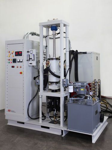 Graphite hot press furnace
