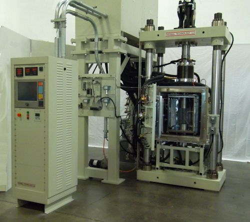 high temperature hot press furnace