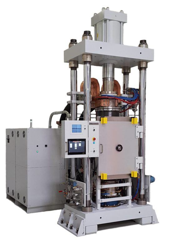 DCS 200- Large scale direct current sintering for spark plasma sintering
