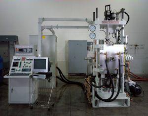 High temperature graphite furnace
