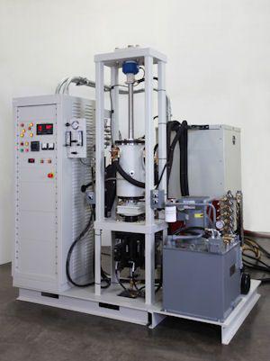 Hydraulic hot press system